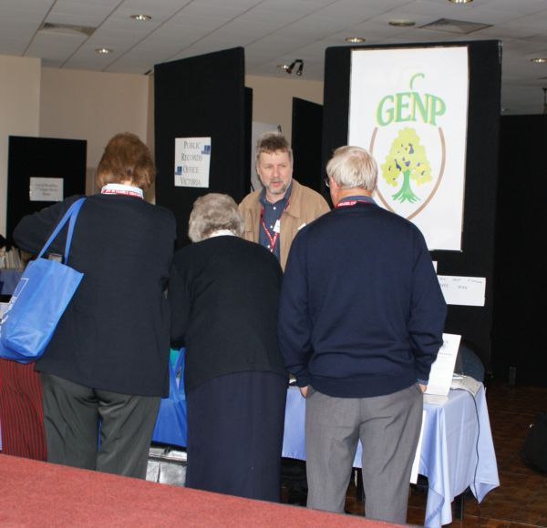 GENP at 7th Victorian Family History State Conference